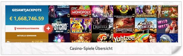 Vegas Winner Casino-Spiele